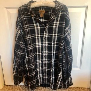 4 / $24 St. John's Bay plaid / flannel button up